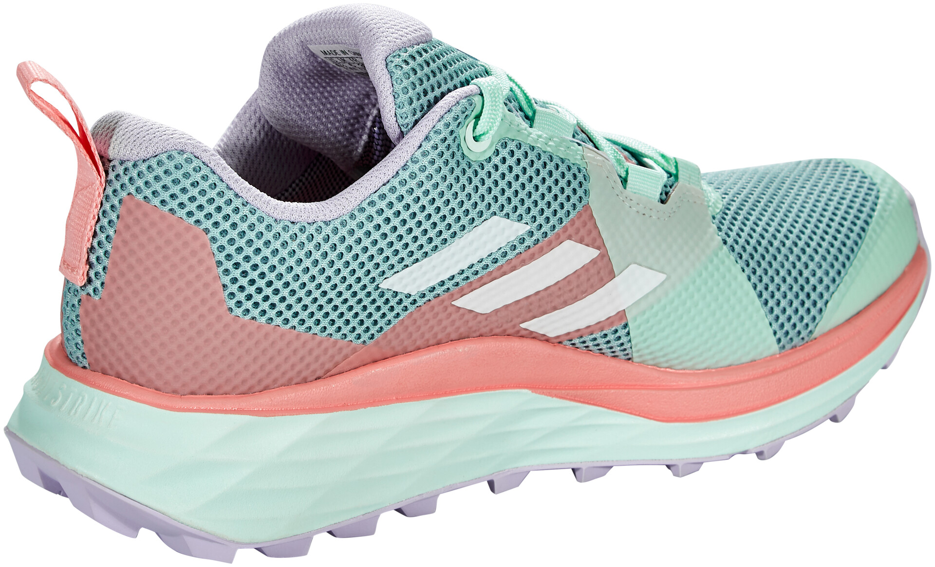 adidas TERREX Two Gore Tex Chaussures de trail Femme, ash greyfootwear whiteglory pink